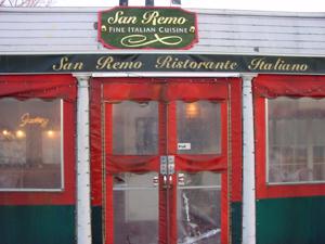 San Remo-redbank
