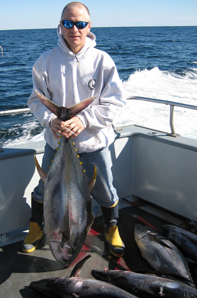 Chuck with Tuna